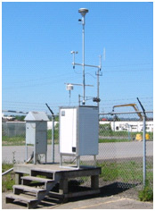 Photo of TSP measuring apparatus