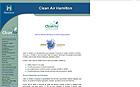 Thumbnails of the Clean Air Hamilton website