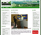 Thumbnail of the Environment Hamilton website