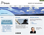 Thumbnail of Ministry of the Environment and Climate Change (Ontario) website